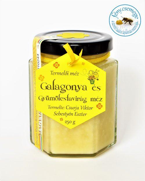 galagonya és gyümölcsfavirág méz - elfogyott