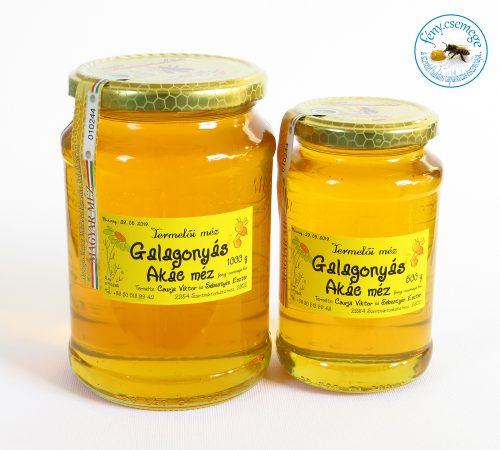 termelői galagonyás akác méz