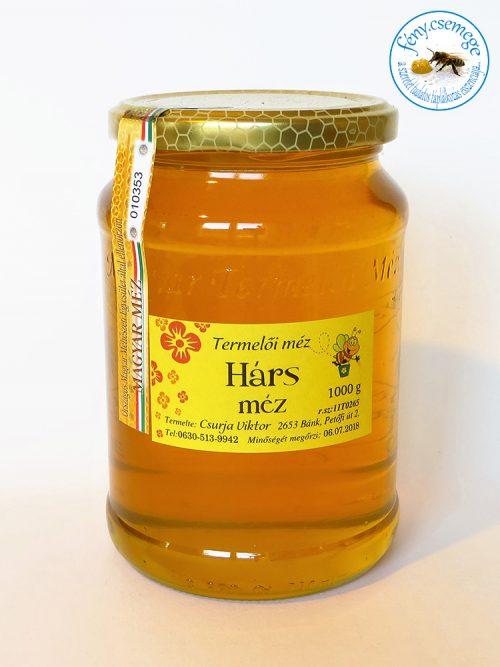 termelői hárs méz