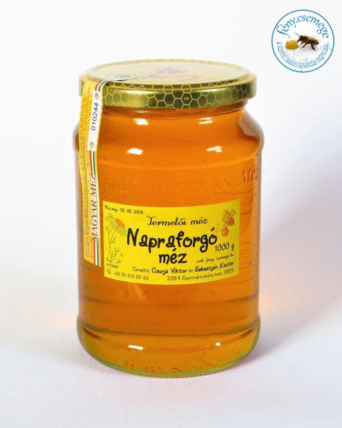 termelői napraforgó méz